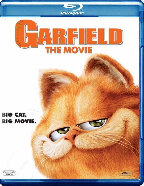 Гарфилд / Garfield (Питер Хьюит / Peter Hewitt) [1080p] [2004 г., комедия, семейный, Blu-ray Disc CEE]