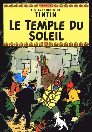 Тинтин: Храм Солнца / Tintin et le temple du soleil / Seven Crystal Balls and the Prisoners of the Sun (Эдди Латесте / Eddie Lateste) [1969, мультфильм, детектив, приключения,семейный, DVB] DUB
