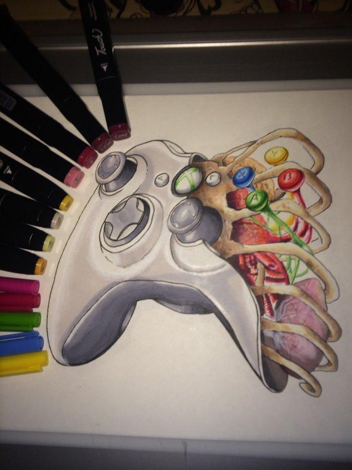 Анатомия геймпада 1