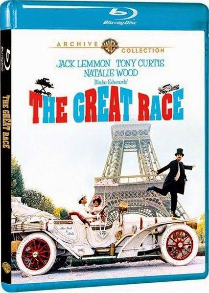 Большие гонки / The Great Race (Блейк Эдвардс / Blake Edwards) [1965, США, мелодрама, комедия, приключения,BDRip 720p] Dub (Советский) + 3x MVO (ДВД-Магия, Фильм-Престиж) + Ukr + Original Eng + Sub Rus, Eng