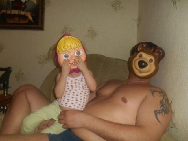 маша и медведь фото секс