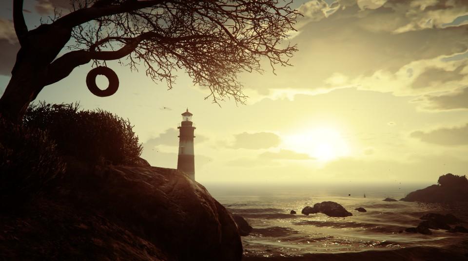 Немного красивых скриншотов из GTA V 1