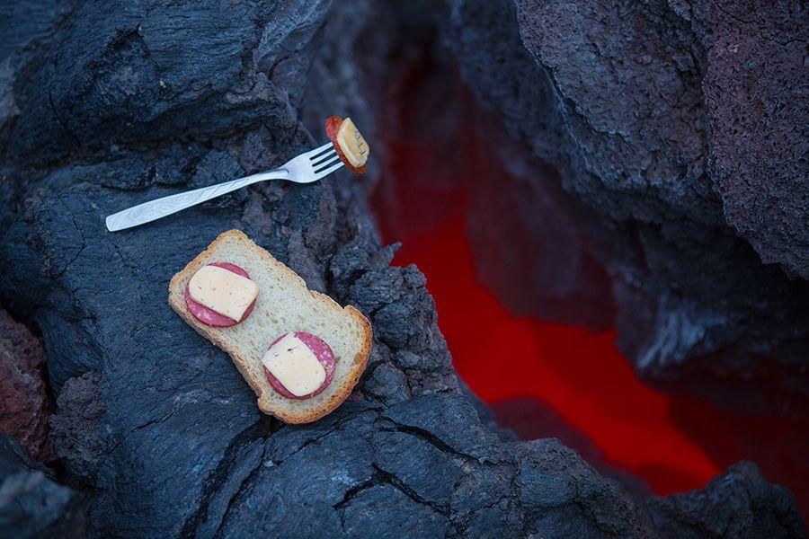 Завтрак у вулкана 1
