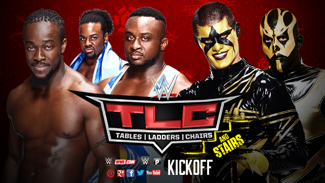 WWE TLC: Tables, Ladders, Chairs... and Stairs 2014 - Kickoff (Pre-Show) [2014 г., Рестлинг, WEB-DL, 264]