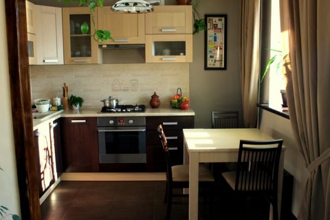 реальные кухни после ремонта фото