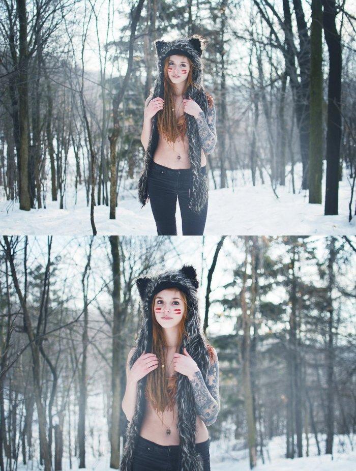 В зимнем лесу 1