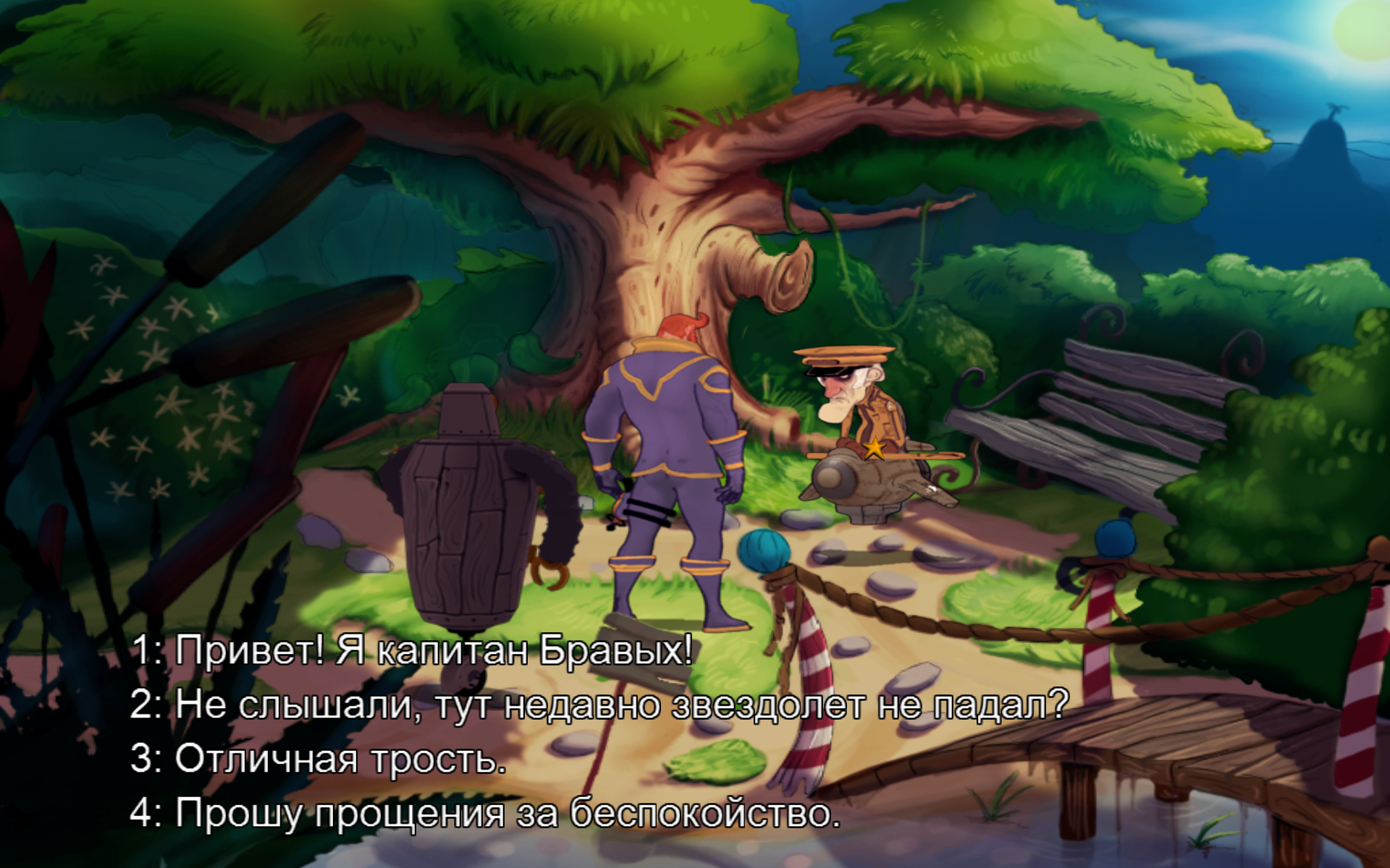 Kaptain Brawe: A Brawe New World (2013) [Multi/Ru] [OS X Native game]