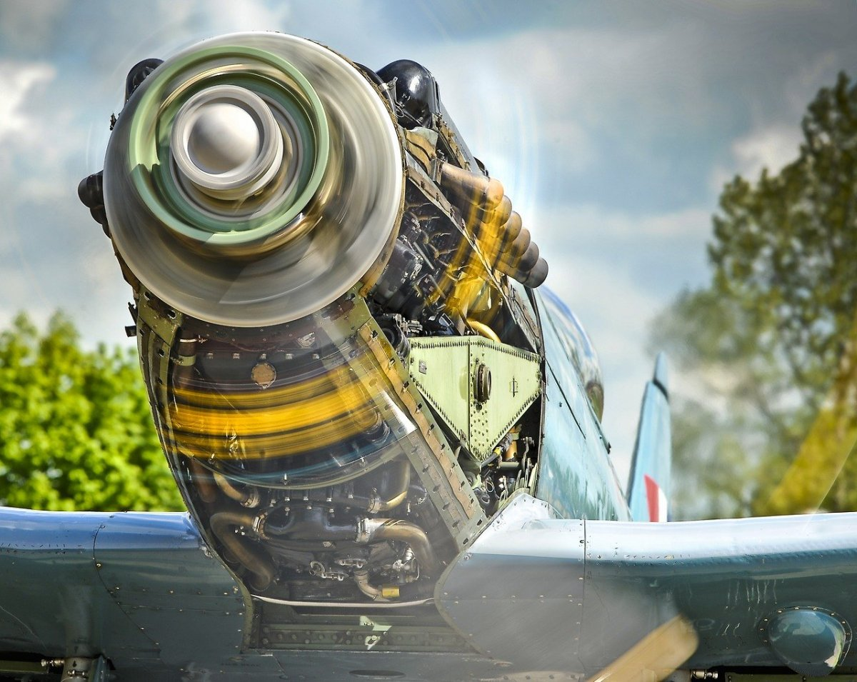Винт самолета 1