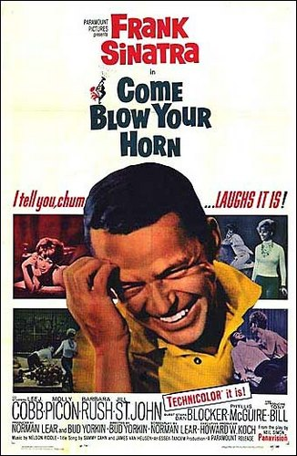 Приди и протруби в свой рог / Come Blow Your Horn (Бад Йоркин / Bud Yorkin) [1963, США, комедия, DVD9 (Custom)] MVO + Original Eng