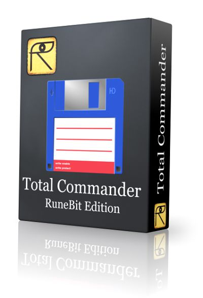 Total Commander 8.51a RuneBit Edition 1.7 (2015) PC