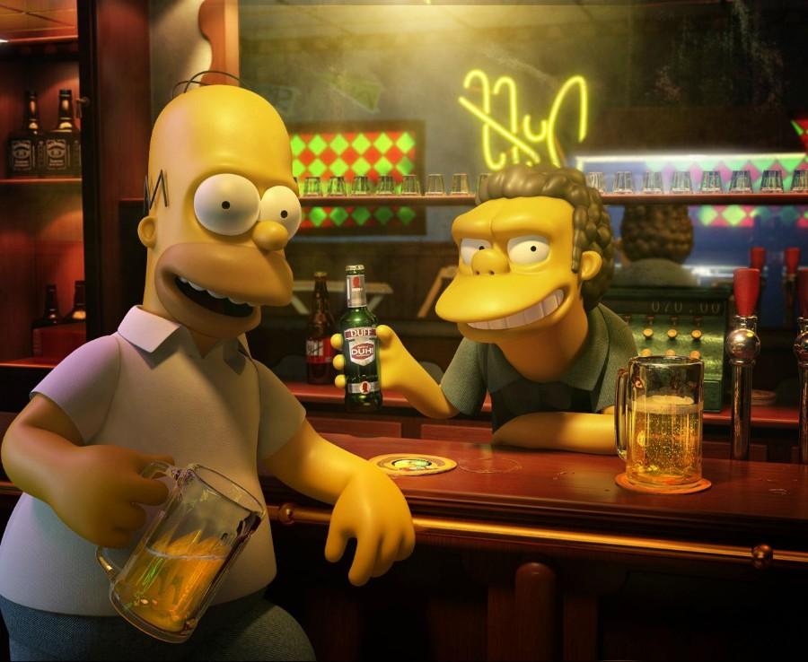 Симпсоны в 3д