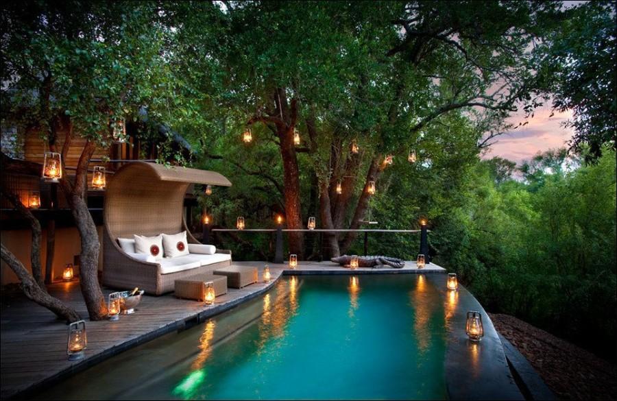 Райский уголок в лесу