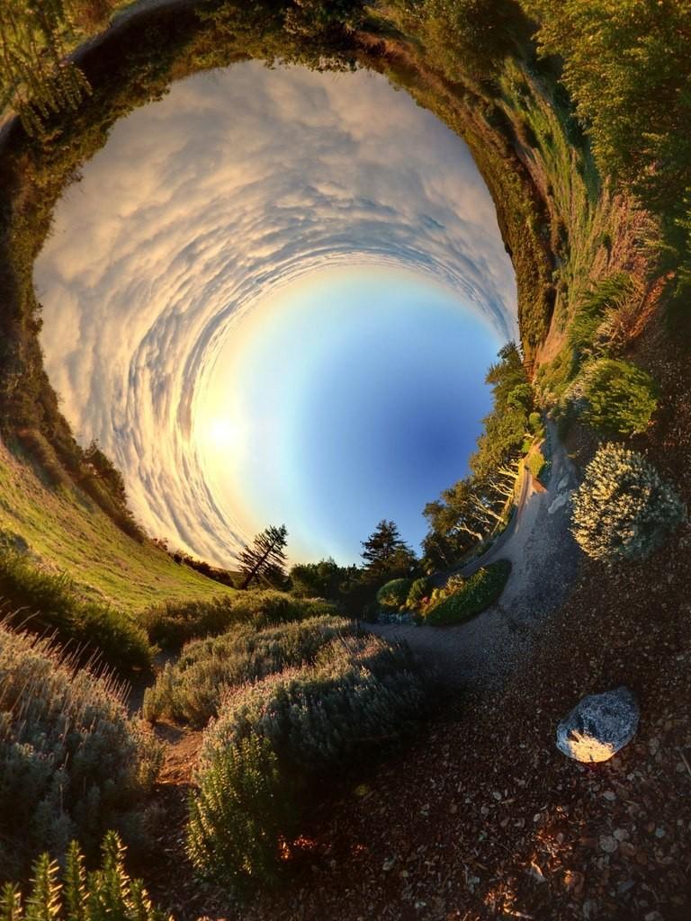 Панорамное фото