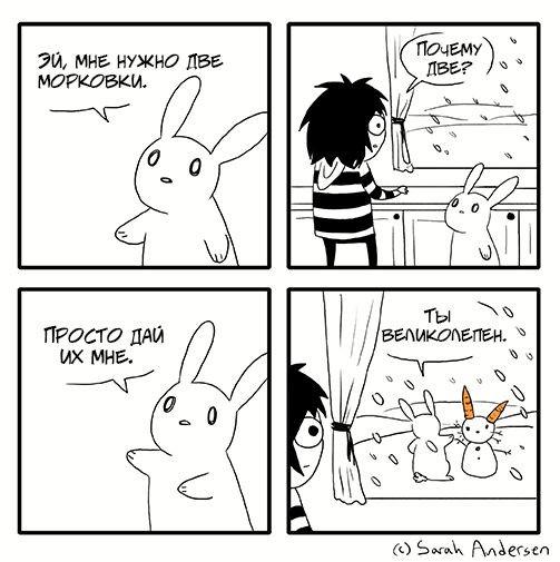 Две морковки