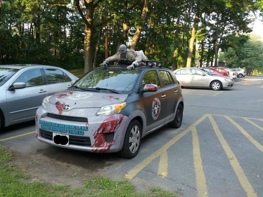 Авто побывавшее в зомобапокалипсисе
