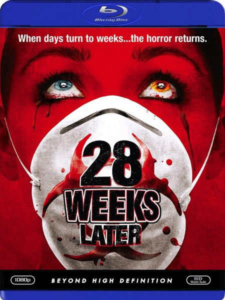 28 недель спустя / 28 Weeks Later (Хуан Карлос Фреснадильо / Juan Carlos Fresnadillo)[2007, Великобритания, Испания, ужасы, фантастика, триллер, BDRip 1080p] Dub + DVO (П.Гланц) + Original Eng + Ukr + Sub (Rus, Eng)