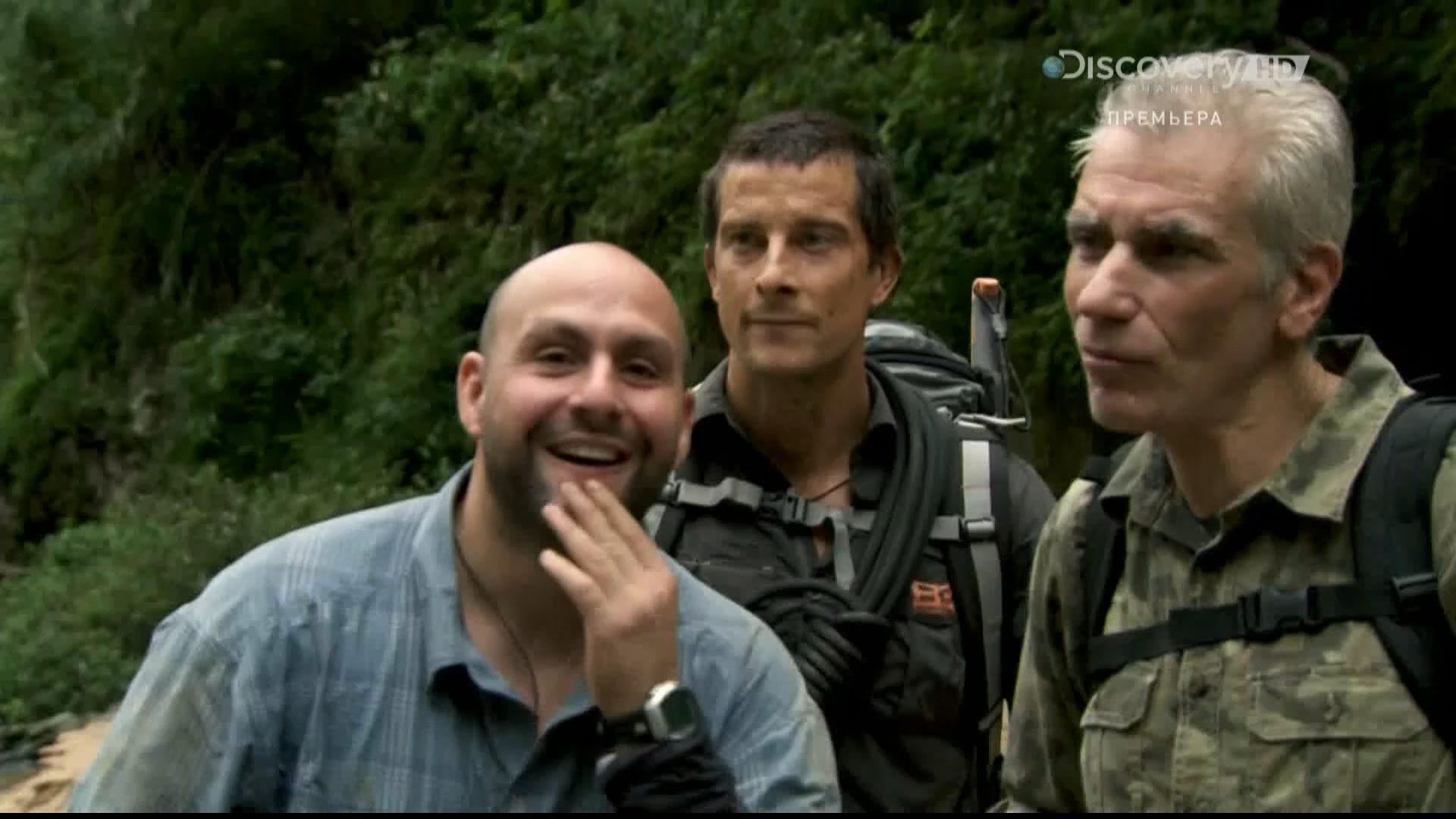 Discovery. Беар Гриллс: испытание страхом / Bear Grylls: Breaking Point (1-6 серия) (2014) HDTV 1080i