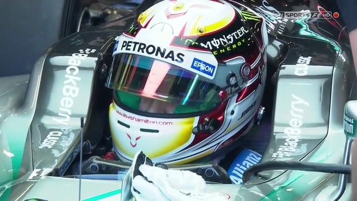 Формула 1: Гран-при Австралии. (1-я и 2-я практика) (2014) HDTVRip