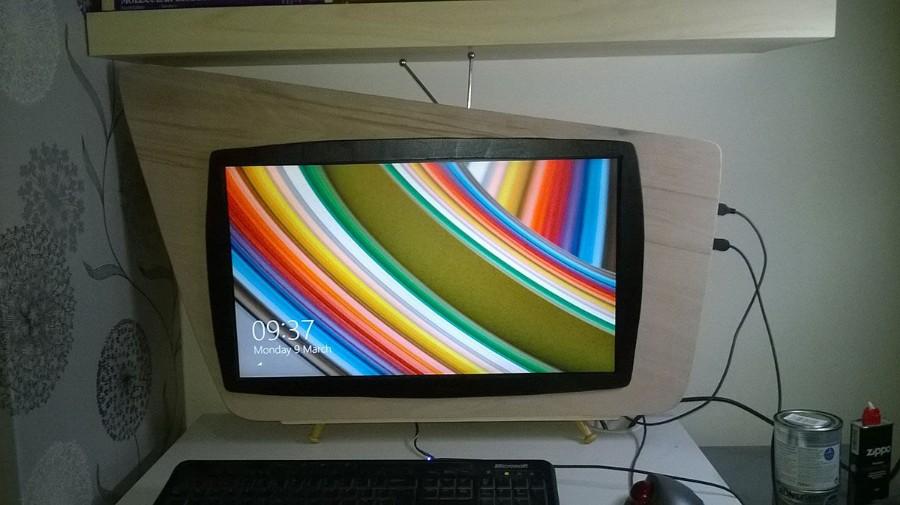 Почти как старый телевизор