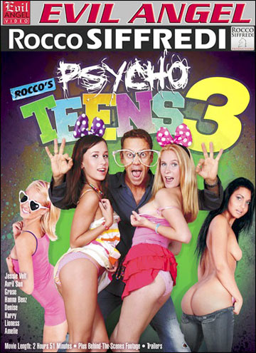 Безумные Подростки Rocco 3 / Rocco s Psycho Teens 3 (2012) DVDRip