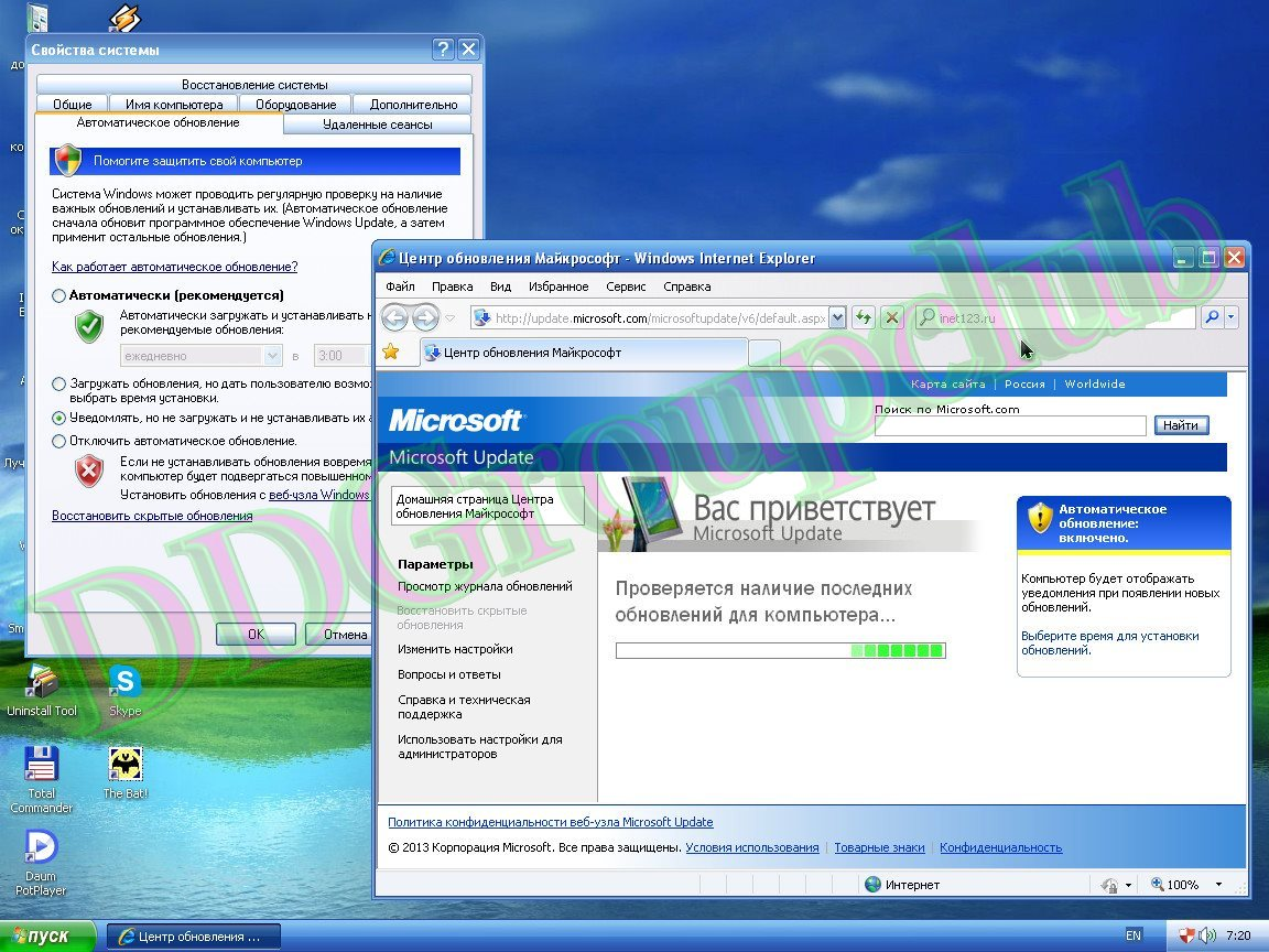 скачать windows xp sp3 zver для флешки