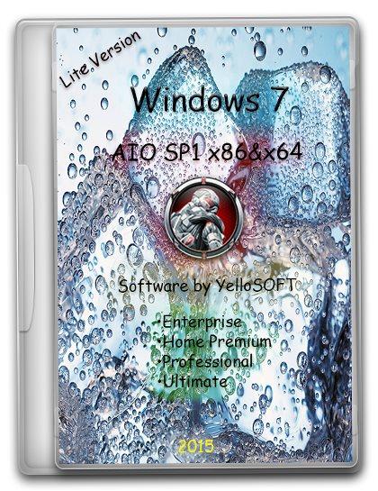 Windows 7 AIO SP1 x86&x64 [v.Lite] by YelloSOFT [Ru]