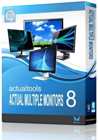 Actual Multiple Monitors 8.9.2 (x86-x64) (2016) Multi/Rus