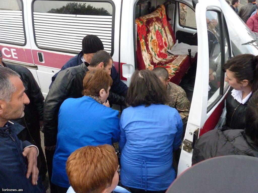 ՊՆ շրջված «Ուրալ»-ի բոլոր տուժած զինվորները տեղափոխվել են Երևան. Ֆոտոշարք,  ՏԵՍԱՆՅՈՒԹ
