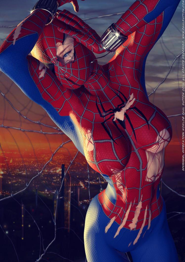 Правило 63: человек-паук