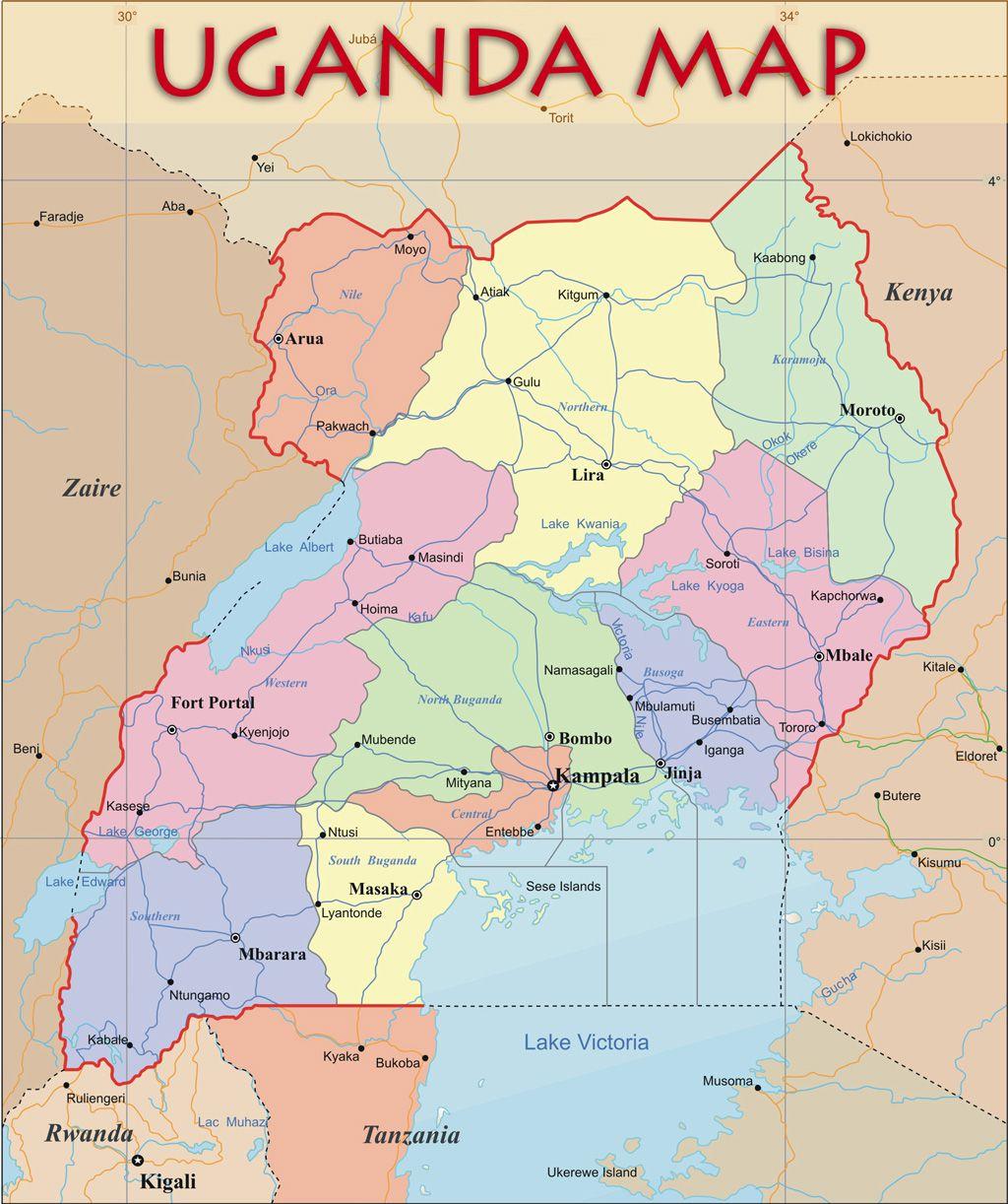 Как «снимают кино» в Уганде.