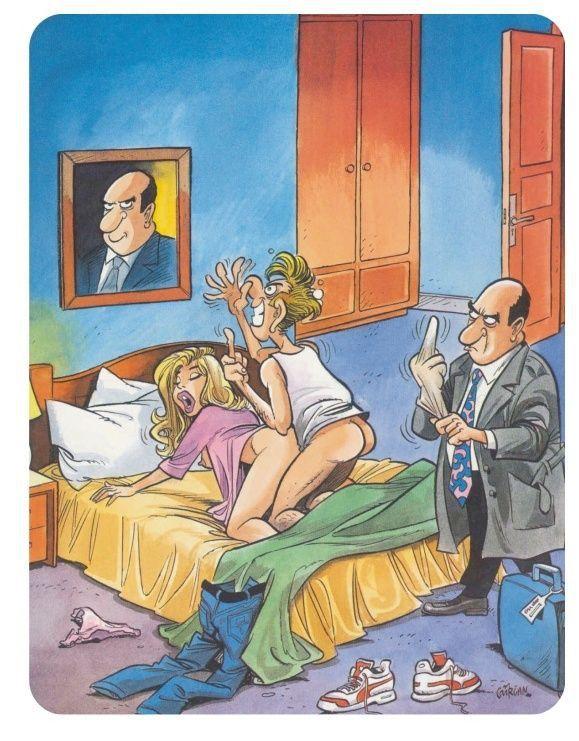 Смешные мультяшные картинки для взрослых