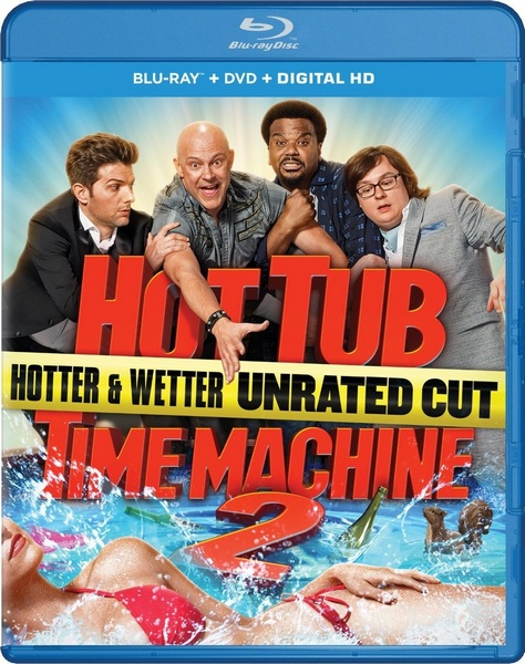 Машина времени в джакузи 2 / Hot Tub Time Machine 2 (2015) BDRip [H.265 / 1080p-LQ]