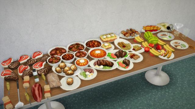 Декоративная еда 68acade3ee547c747e12ccffb67b999e
