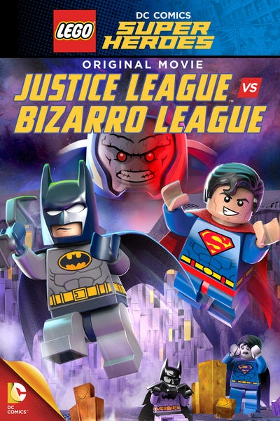 LEGO супергерои DC: Лига справедливости против Лиги Бизарро / Lego DC Comics Super Heroes: Justice League vs. Bizarro League (2015) BDRip [576p] iPad скачать через торрент бесплатно