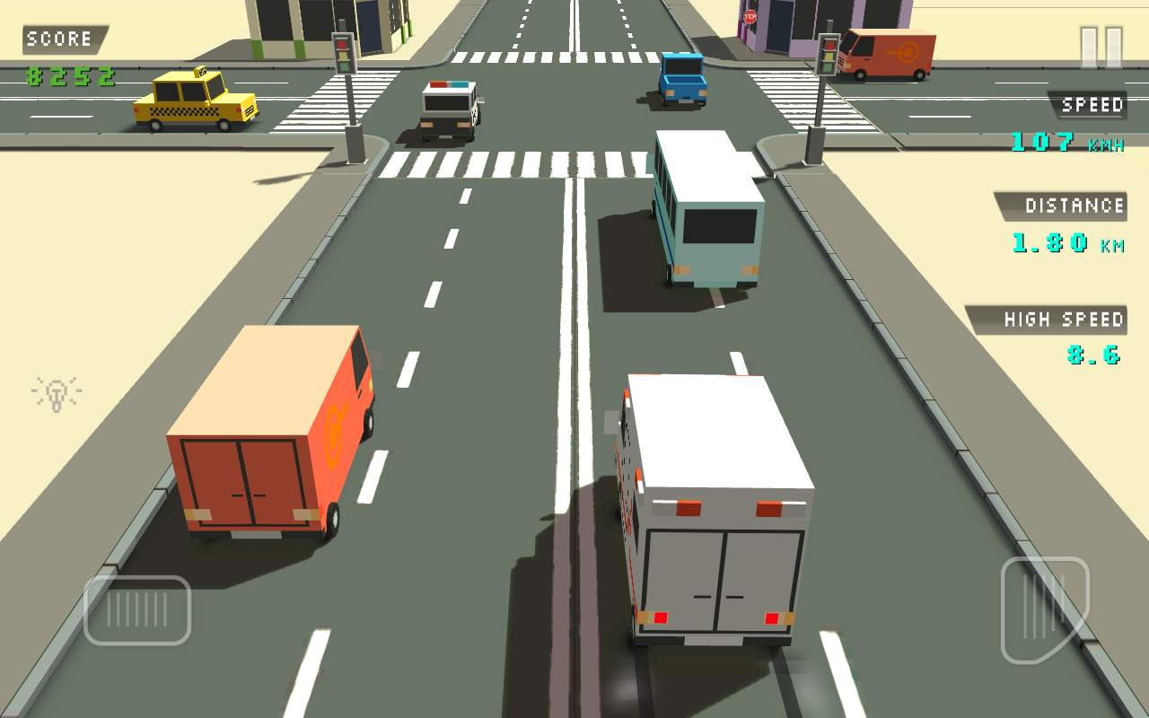 Blocky Traffic Racer 1.0 [En]