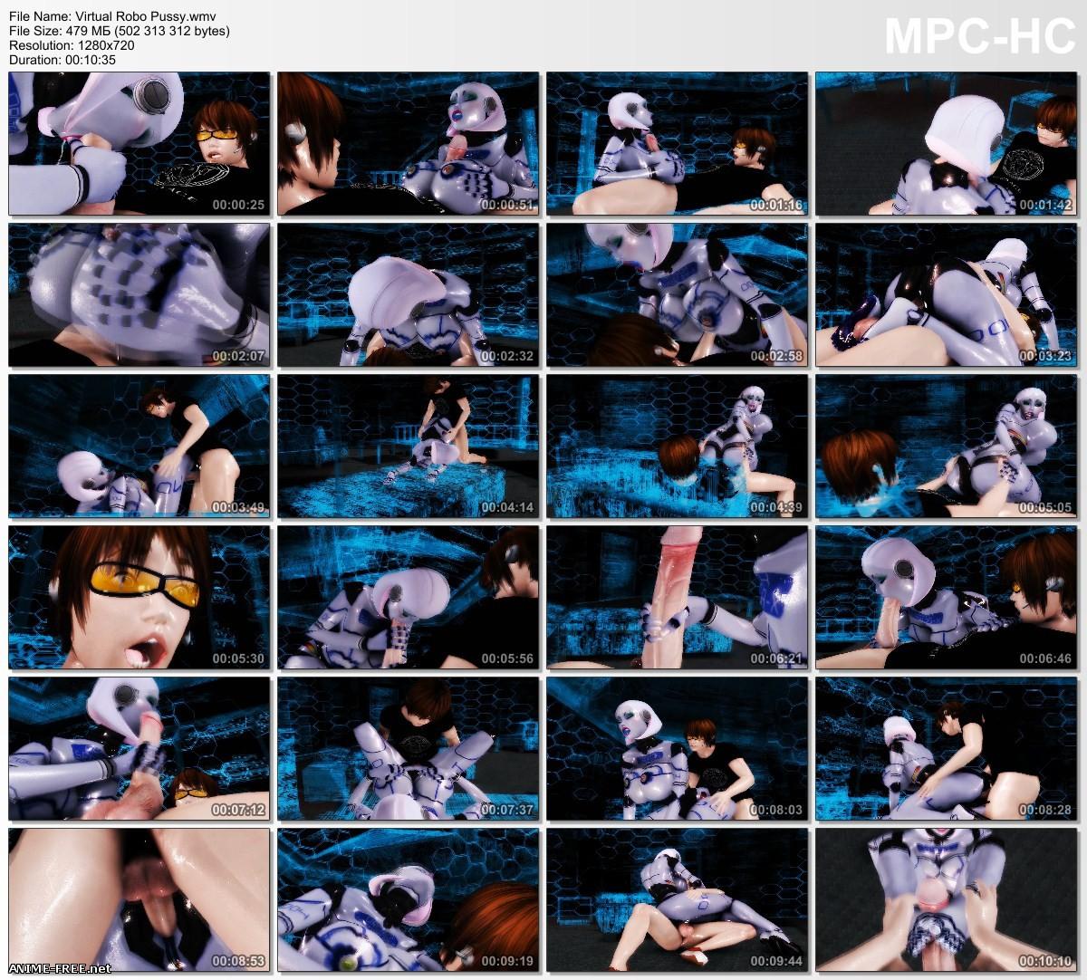Virtual Robo Pussy (Xalas Studios) [2015] [Uncen] [3D] [ENG] Anime Hentai