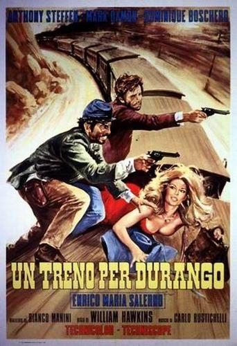 Поезд до Дуранго / Train for Durango / Un treno per Durango (Марио Кайано / Mario Caiano) [1968, Италия, вестерн, DVDRip] VO (Котов)