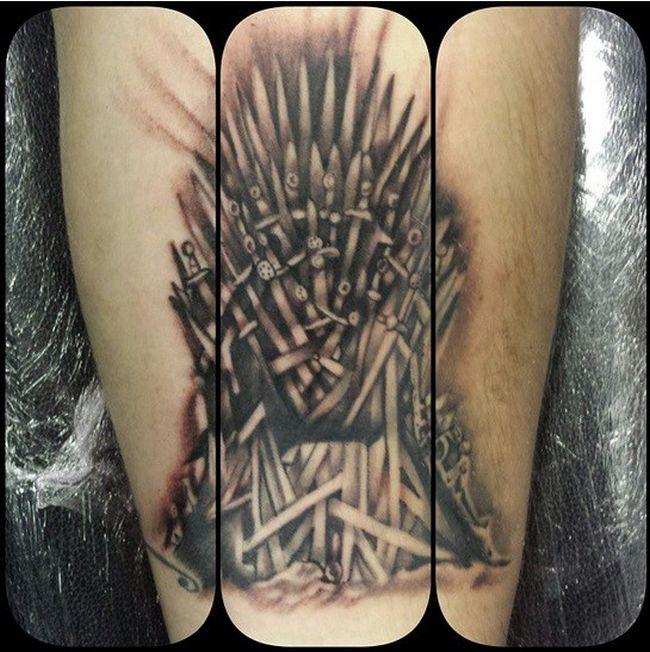 "Тату - ""Game  Of Thrones"""
