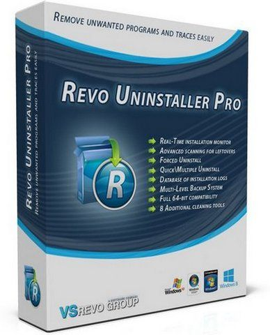 Revo Uninstaller Pro 3.2.1 Final (2018) РС | RePack & Portable by elchupacabra