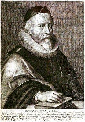 Фламандская живопись: Отто Ван Веен (Otto van Veen) Жанровая живопись, портрет [105, jpg]