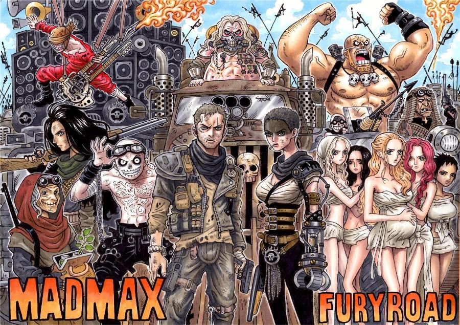 Безумный Макс от автора One Piece