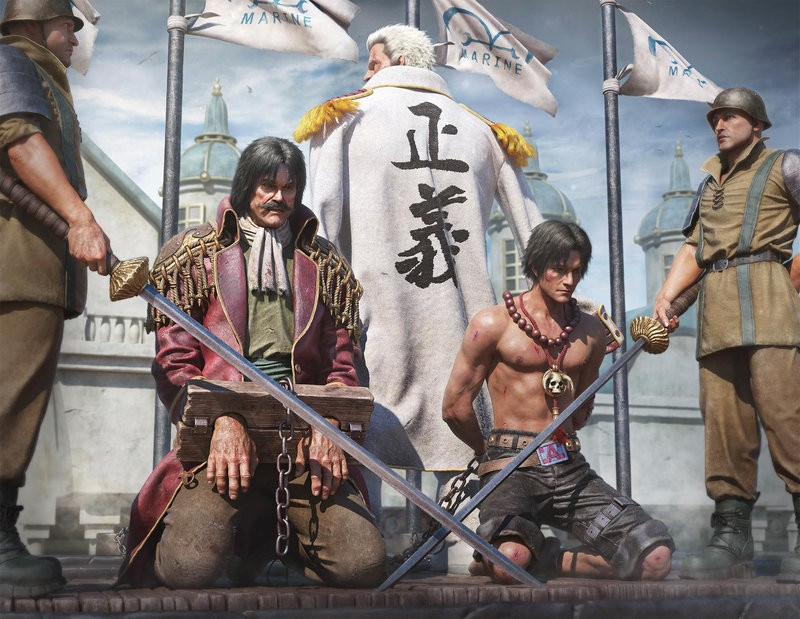 Сцена из One Piece