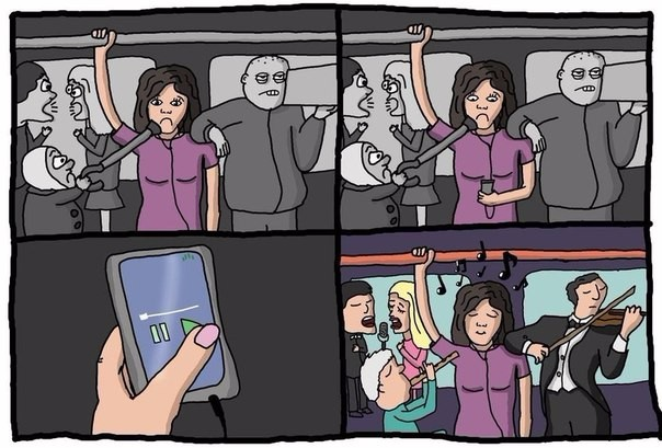 Музыка в транспорте
