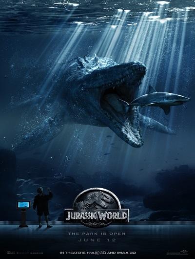 Мир Юрского периода / Jurassic World (2015) (BDRip 720p) 60 fps