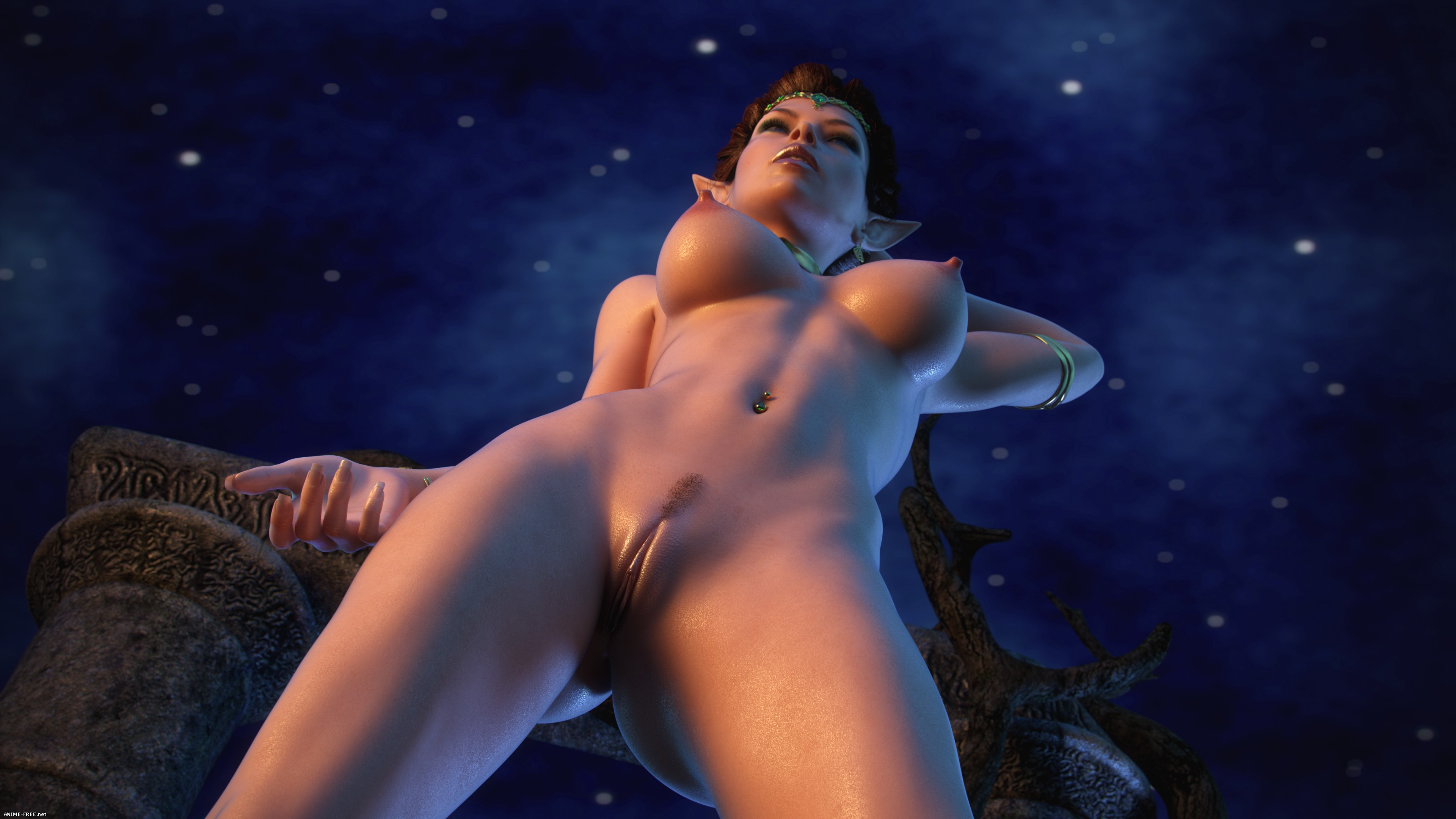"Hitman X3Z - Other Side / Сборник ""Другая Сторона"" [3DCG] [JPG] [Uncen] Hentai ART"