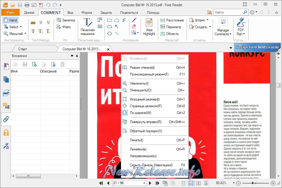 Foxit Reader 8.1.1.1115 Final