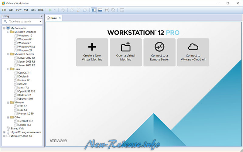 VMware Workstation PRO 12.5.2 Build 4638234 Final