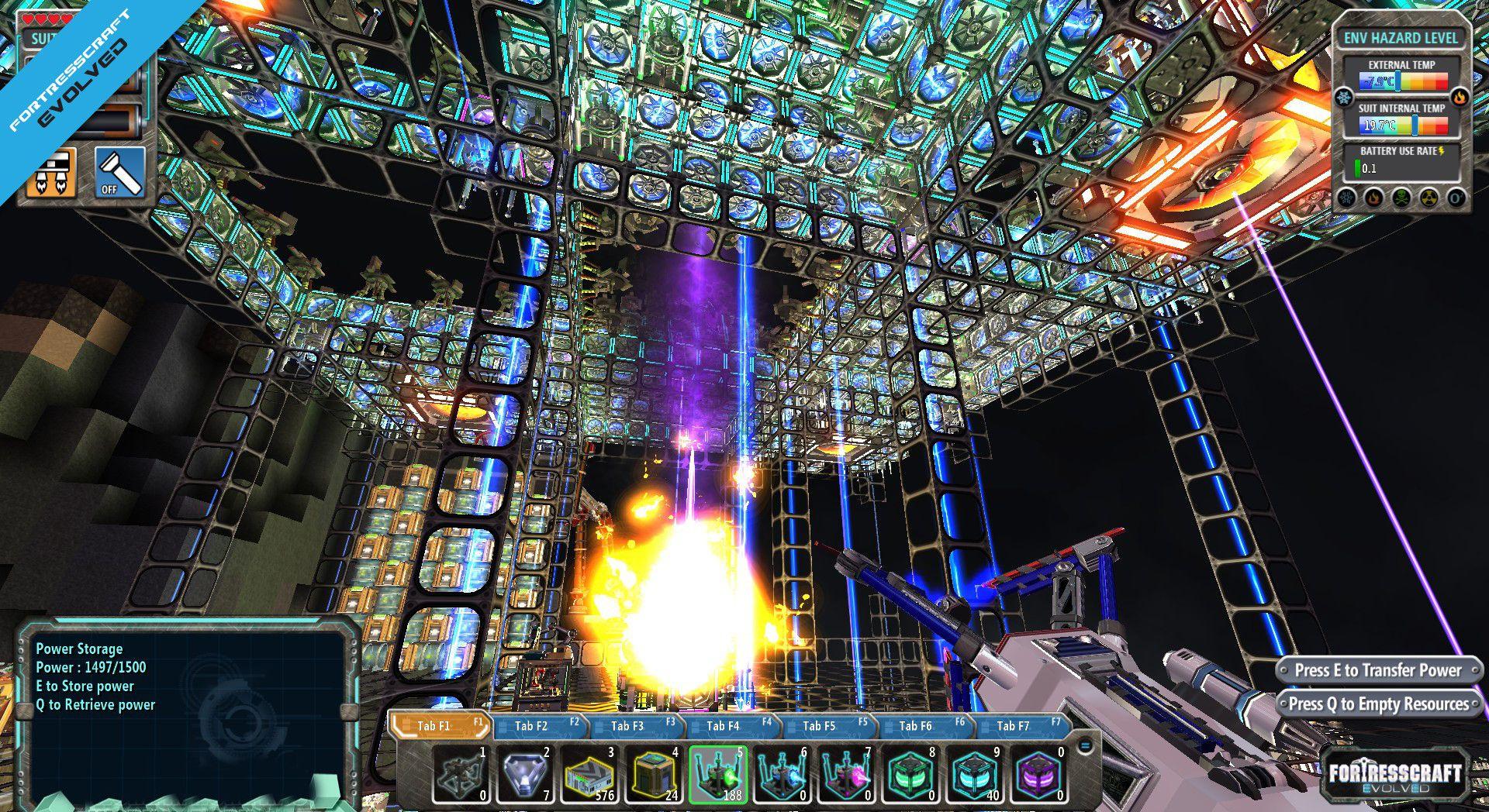 Скриншот FortressCraft: Evolved v11.11b №3