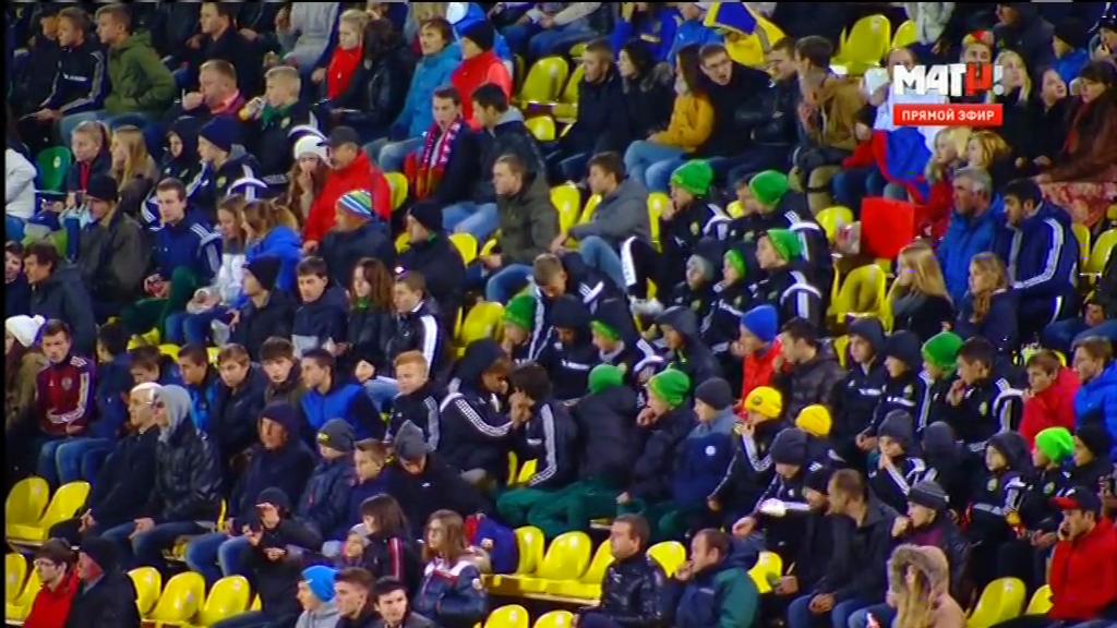 Чемпионат Европы 2017 (U-21) Отборочный турнир (Группа 7, 4-й тур) Россия - Фарерские острова (2015) DVB