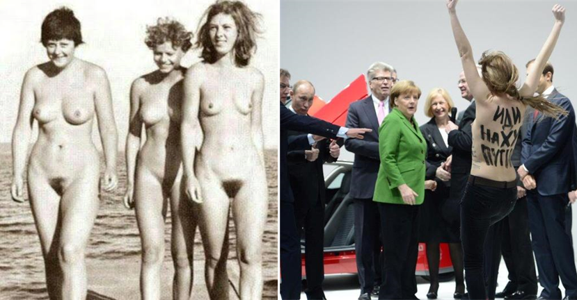 Бесплатное фото меркель голая 72005 фотография